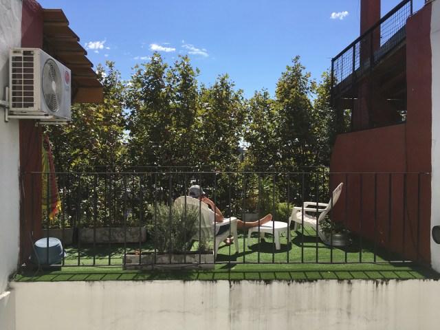 caballito airbnb patio
