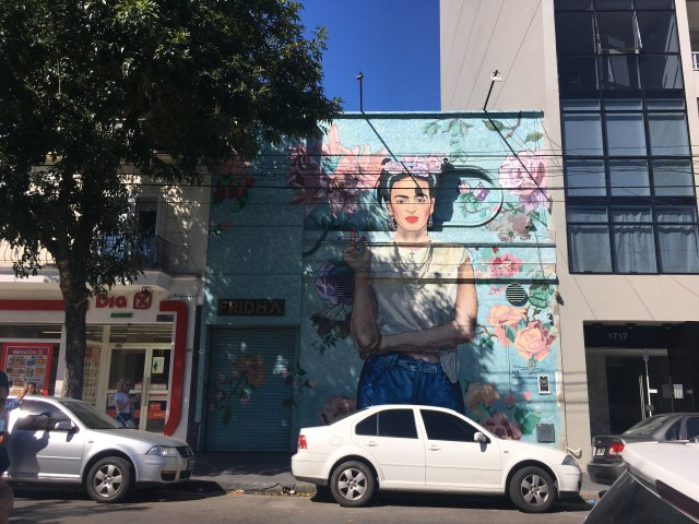 frida kahlo mural buenos aires