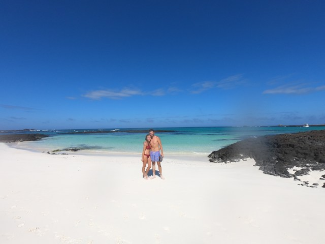 beach galapagos