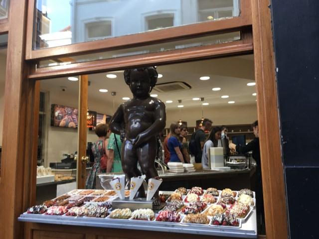 belgian waffle shop
