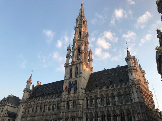 belgium brussels plaza