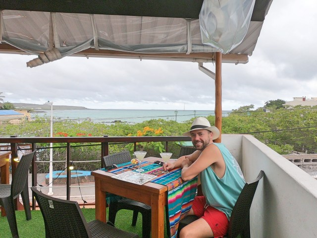 margaritas in galapagos