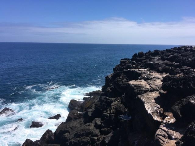 rocks loberia beach