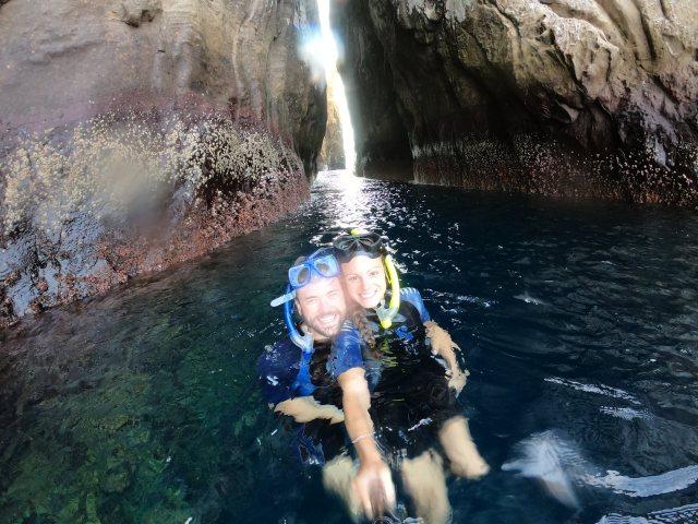 snorkeling kicker rock