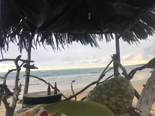 beach bar isabela