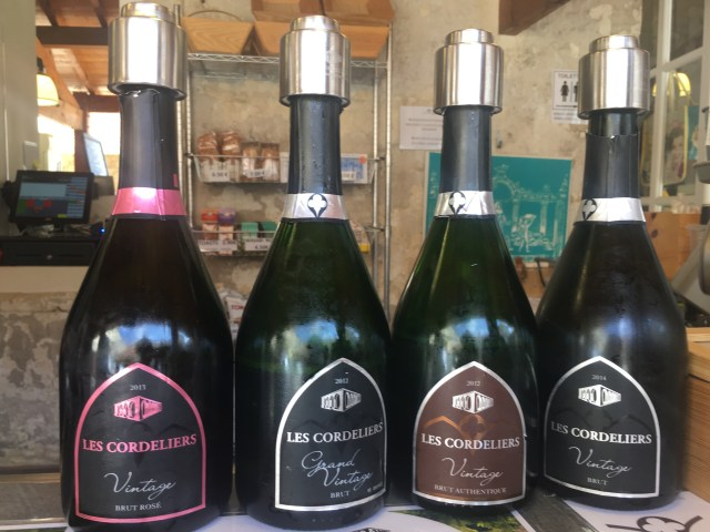 sparkling wine in st emilion