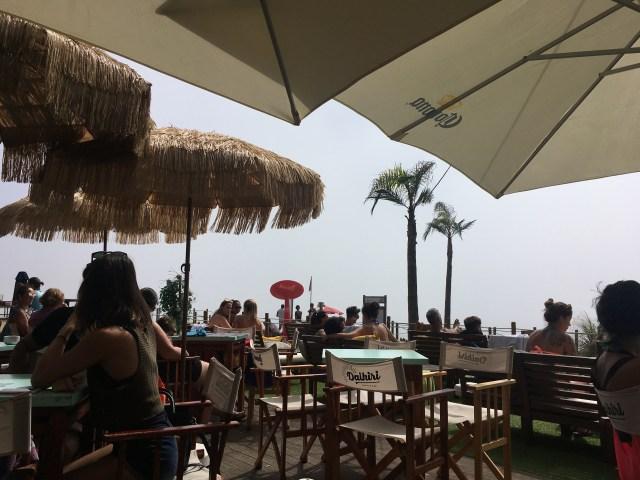 beach bar porto