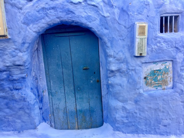 Blue City door4