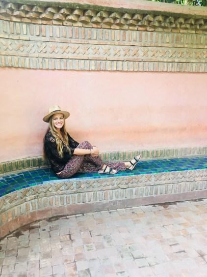 garden in marrakesh