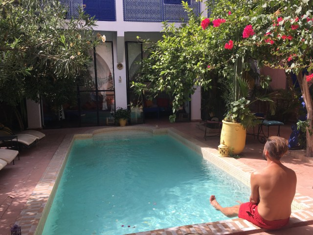 morocco pool riad