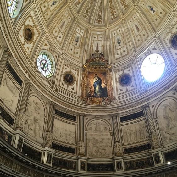 sevilla church ceiling