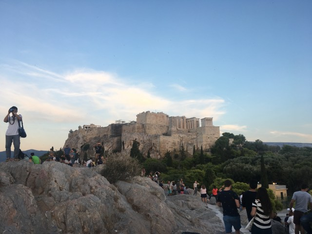 acropolis hill of mars