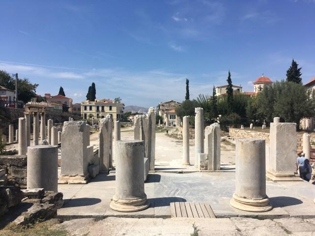 athens greece ruins