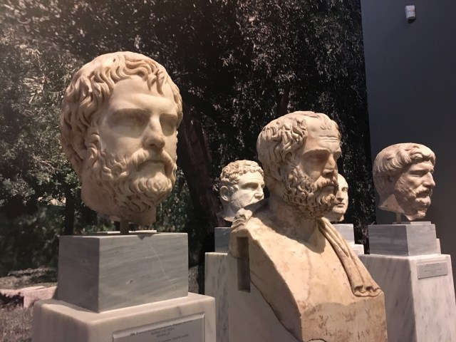 greece busts