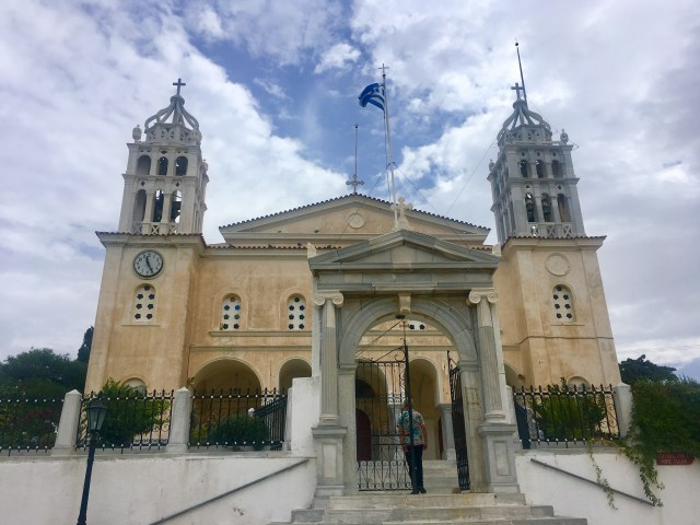 church Lefkes paros
