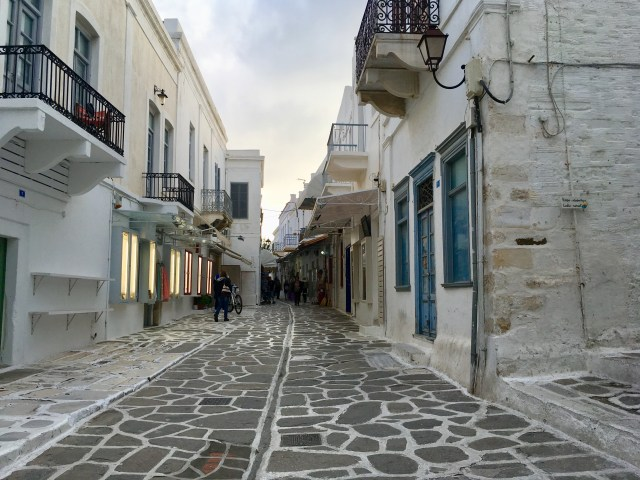 shopping in parikia paros