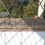 Enchanted Forest Sign Making