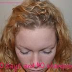 50 Days and NO shampoo!