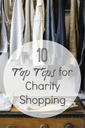 10 Top Tips for Charity Shopping