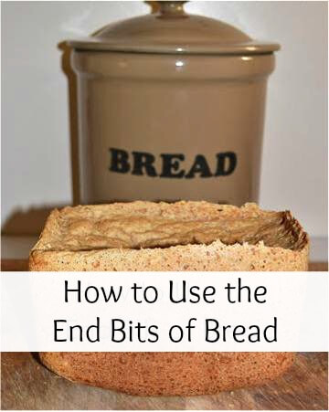 How to use the end pieces of bread.