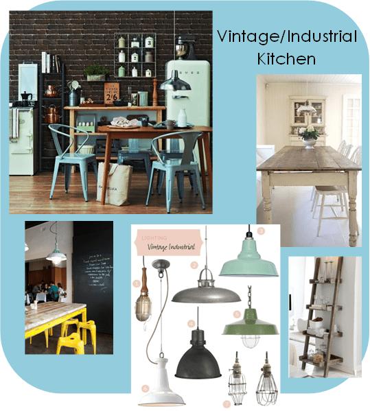 Vintage & Industrial Kitchen Ideas