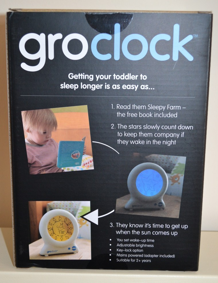 Gro-clock review