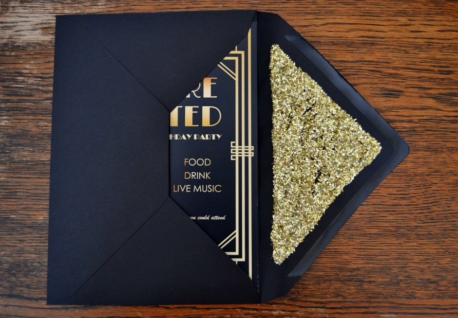 gatsby party invites - Gatsby Party Invitation