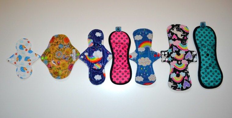Zero Waste Beauty - cloth sanitary pads