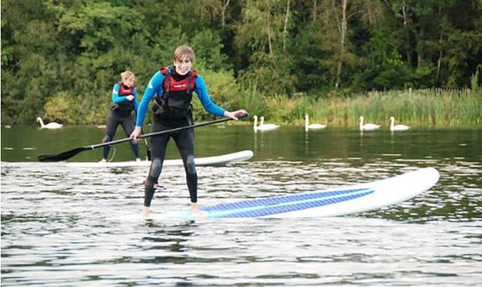 Paddleboarding Devon