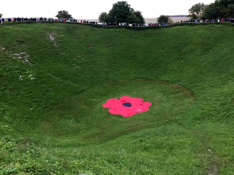 Lochnagar Crater Battle of the Somme