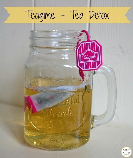 Teagime Tea Detox with customized blends of tea