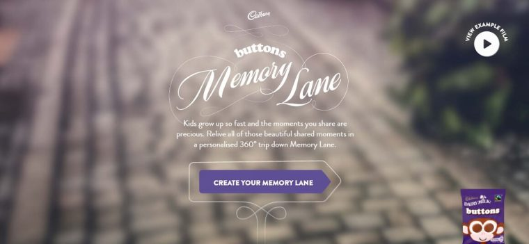 Buttons Memory Lane tool
