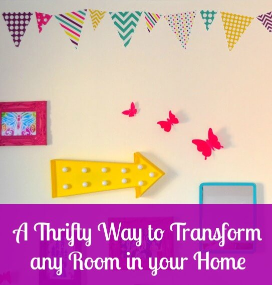 A Thrifty Way to Transform any Room in your Home