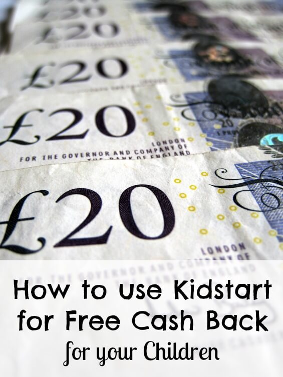 How to use Kidstart for Free Cash Back for your Children
