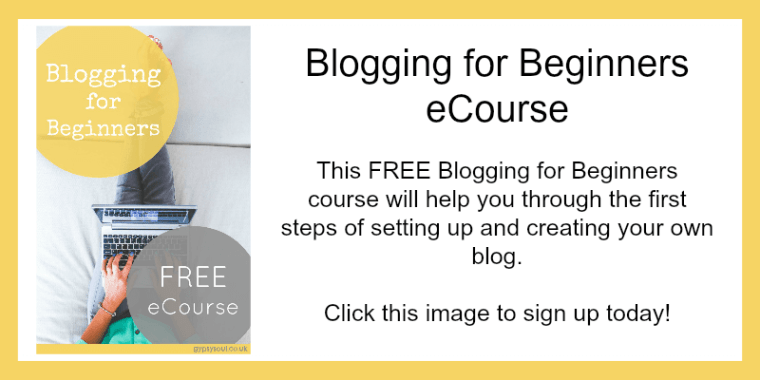 Blogging for Beginners Sign Up Now!