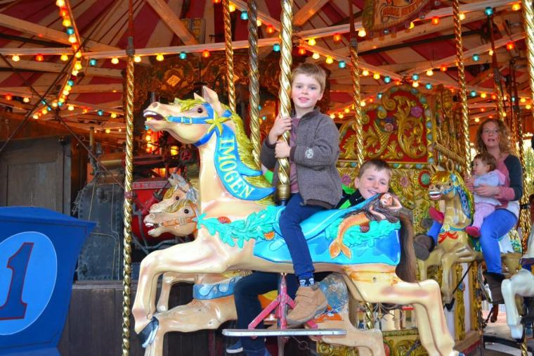 The Carousel at Crealy in Devon
