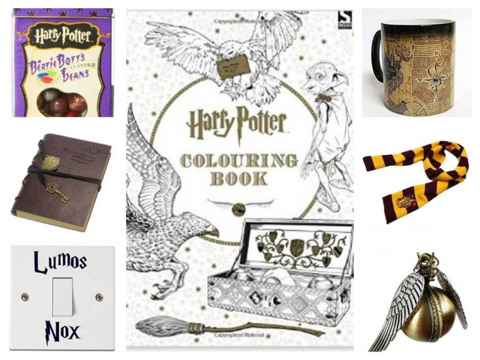 Harry Potter Christmas presents