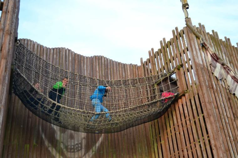 Pirates revenge at Crealy in Devon