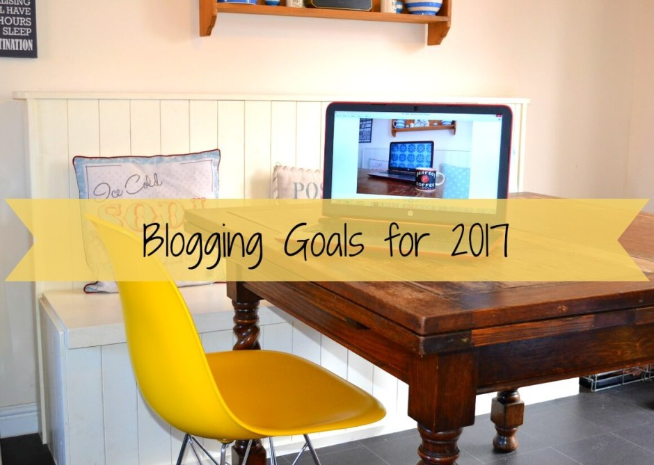 My blogging goals for 2017