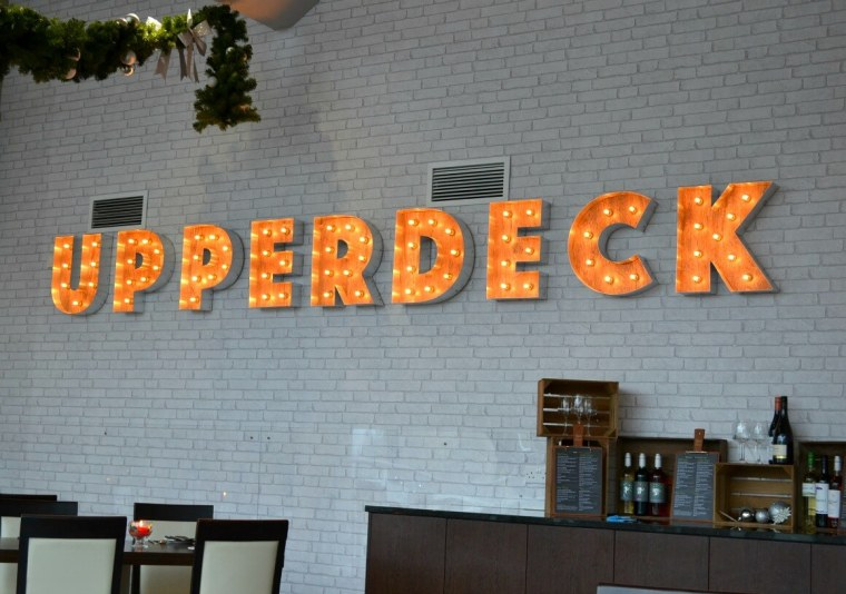 The Upperdeck restaurant at the China Fleet Country Club in Saltash, Cornwall