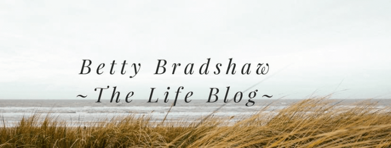 Betty Bradshaw - The Lifestyle Blog