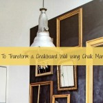 How To Transform a Chalkboard Wall using Chalk Markers