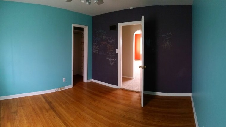 Transform a chalkboard wall using chalk markers