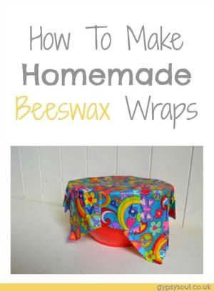 How to make homemade beeswax wraps