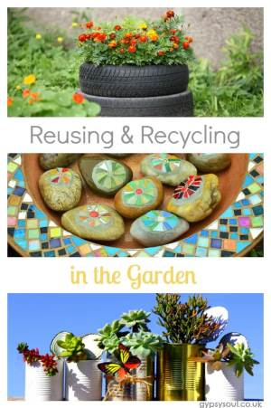 Reusing and recycling for the garden