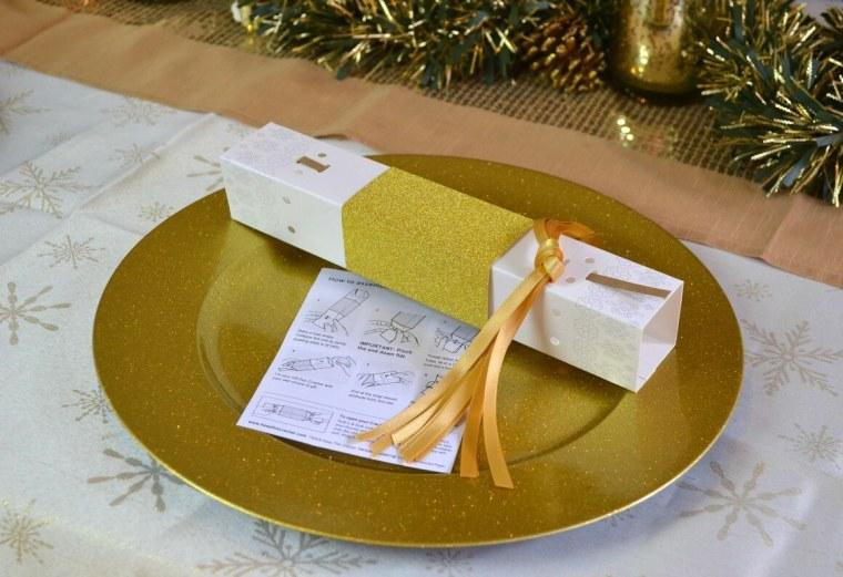 Christmas reusable crackers