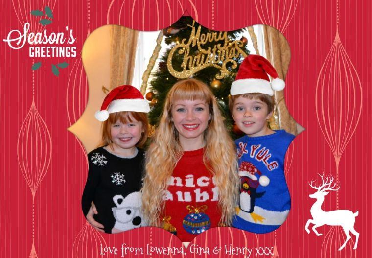 PicMonkey Christmas card
