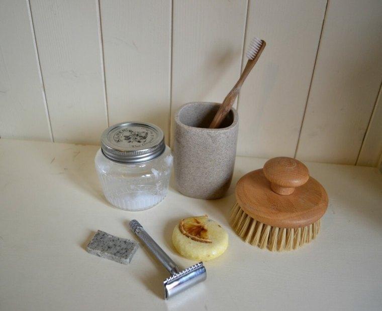 Zero waste beauty routine