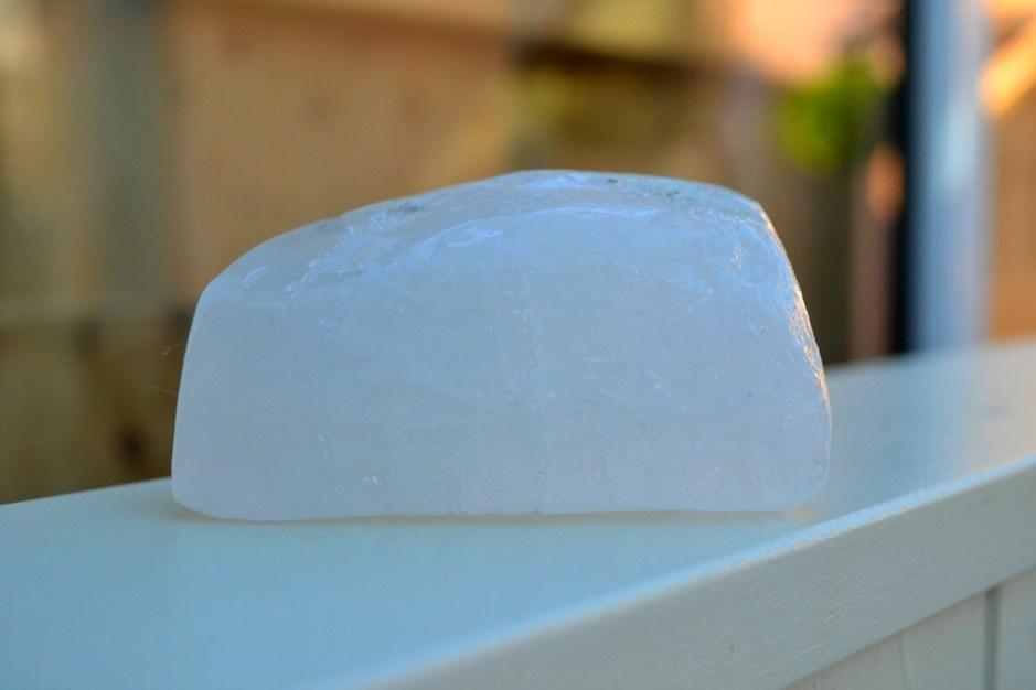 Alum stone zero waste deodorant