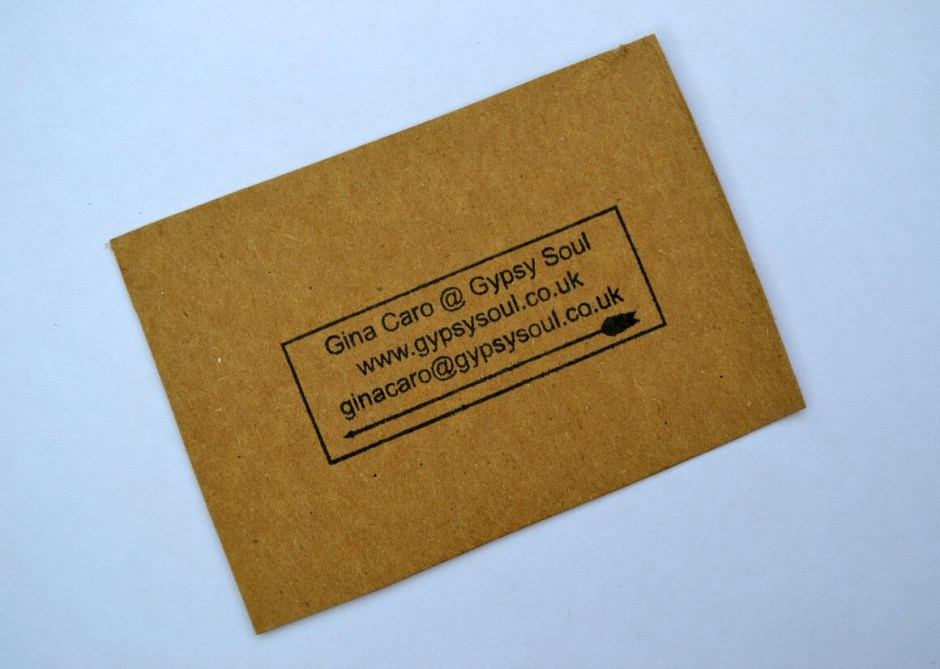 Eco business cards sustainable lifestyle gypsy soul eco business cards reheart Choice Image